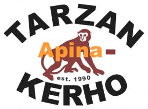 TarzanA logo apinalla 2010 TUMMA